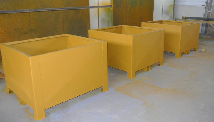 Caisses de stockage