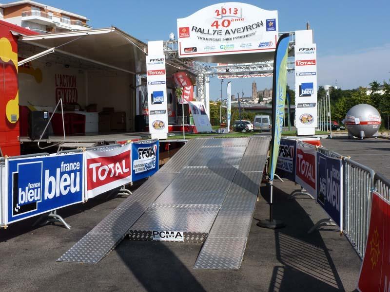Podium Rallye Rouergue